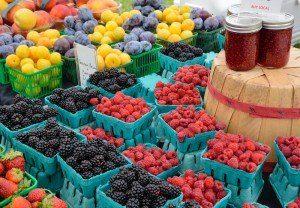 farmers market fruit baskets