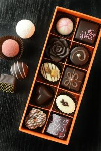 boxed gourmet chocolates