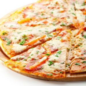 Delicious Thin Crust Pizza